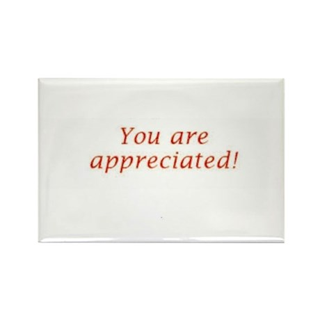 Appreciation Rectangle Magnet (10 pack)