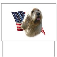 Otterhound Flag Yard Sign