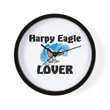 Harpy Eagle Lover Wall Clock