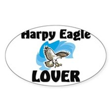 Harpy Eagle Lover Oval Decal