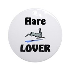 Hare Lover Ornament (Round)