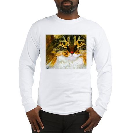 Kitty Close-Up Long Sleeve T-Shirt