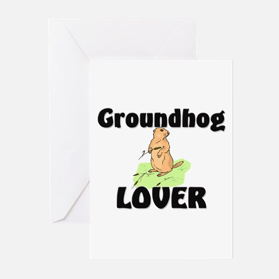 Groundhog Lover Greeting Cards (Pk of 10)