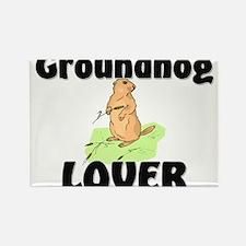 Groundhog Lover Rectangle Magnet