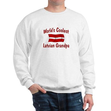 Coolest Latvian Grandpa Sweatshirt