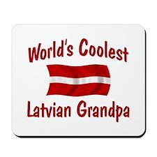 Coolest Latvian Grandpa Mousepad
