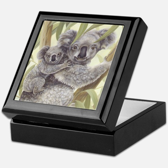 Koalas Keepsake Box