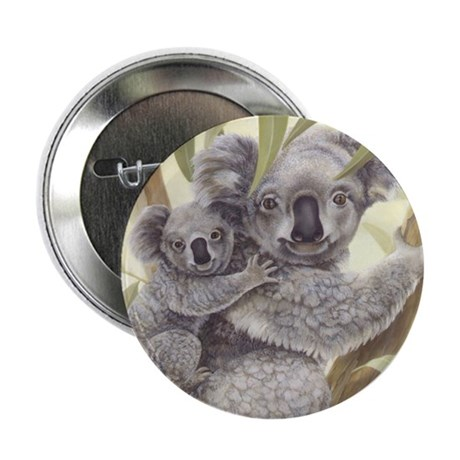 "Koalas 2.25"" Button (10 pack)"