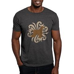 Tan & Brown Afghan Hound T-Shirt