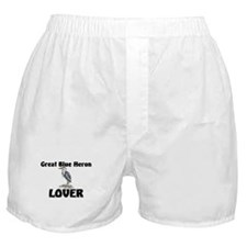 Great Blue Heron Lover Boxer Shorts