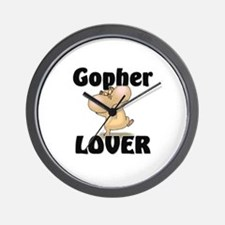 Gopher Lover Wall Clock