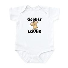 Gopher Lover Infant Bodysuit