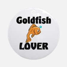 Goldfish Lover Ornament (Round)