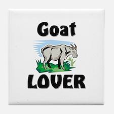 Goat Lover Tile Coaster