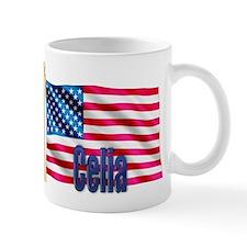 Celia American Flag Gift Mug