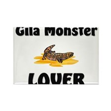 Gila Monster Lover Rectangle Magnet