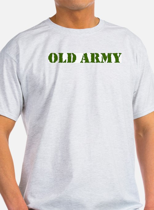 OLD ARMY Ash Grey T-Shirt