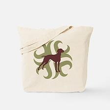 Vizsla Dog Tribal Tote Bag