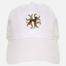 Vizsla Dog Tribal Baseball Baseball Cap