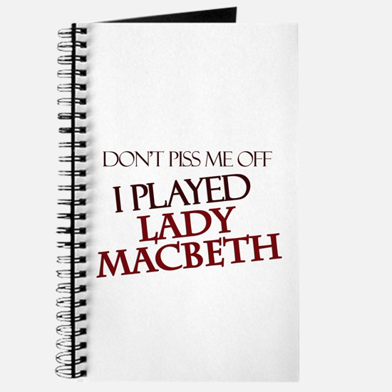 I Played Lady Macbeth Journal