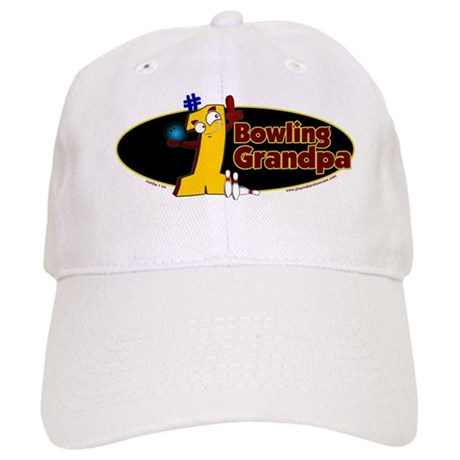 Yellow number 1 bowling grand Cap