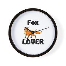 Fox Lover Wall Clock