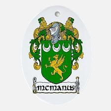 McManus Coat of Arms Keepsake Ornament