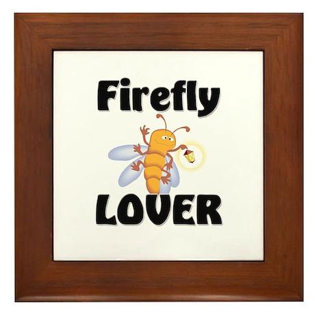 Firefly Lover Framed Tile
