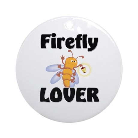 Firefly Lover Ornament (Round)