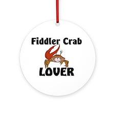 Fiddler Crab Lover Ornament (Round)