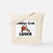 Fiddler Crab Lover Tote Bag