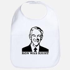 Ron Was Right Bib