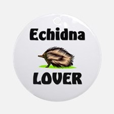 Echidna Lover Ornament (Round)