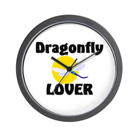 Dragonfly Lover Wall Clock