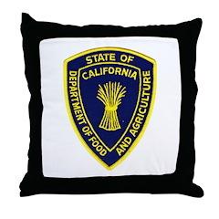 Ag Inspector Throw Pillow