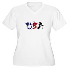 USA (Graffiti) T-Shirt