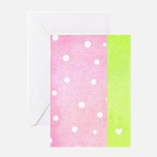 Dotty Over You Greeting Card