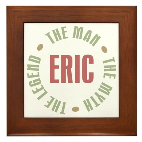 Eric Man Myth Legend Framed Tile
