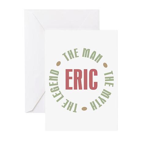 Eric Man Myth Legend Greeting Cards (Pk of 10)