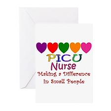PICU Nurse Greeting Cards (Pk of 20)