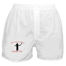 Crazy Joe Boxer Shorts