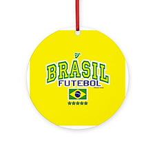 Brasil Futebol/Brazil Soccer/Football Ornament (Ro
