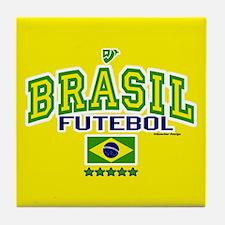 Brasil Futebol/Brazil Soccer/Football Tile Coaster