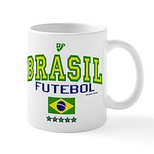 Brasil Futebol/Brazil Soccer/Football Mug