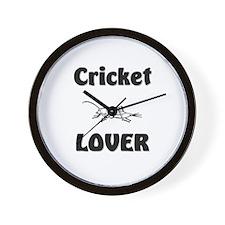 Cricket Lover Wall Clock