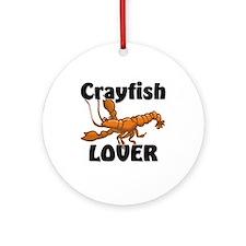 Crayfish Lover Ornament (Round)