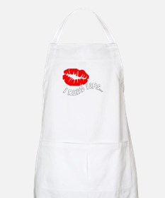 I Read Lips BBQ Apron