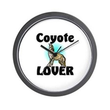 Coyote Lover Wall Clock