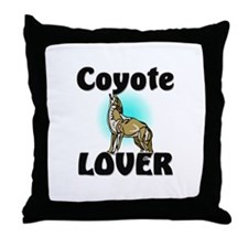 Coyote Lover Throw Pillow