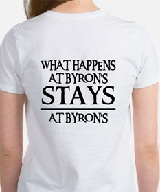 STAYS AT BYRON'S Women's T-Shirt